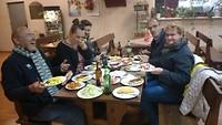 Lekker eten in Trucker restaurant
