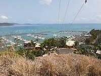 view trailrun Airlie Beach