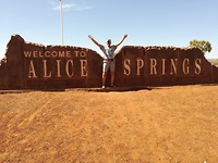 Terug Outback 500 km
