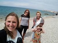 Family in Piran