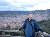 Uitzicht over Cusco
