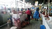 Vlees wordt niet gekoeld op de markt...