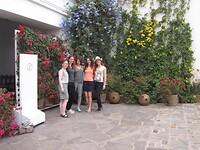 Gaaf museum en die bloemen overal!