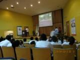 zaal met studenten