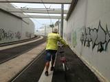 fiets uitlaten