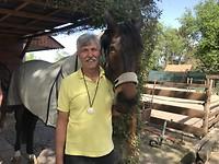 met paard van Maaike