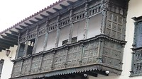 balkon van Casa Concha