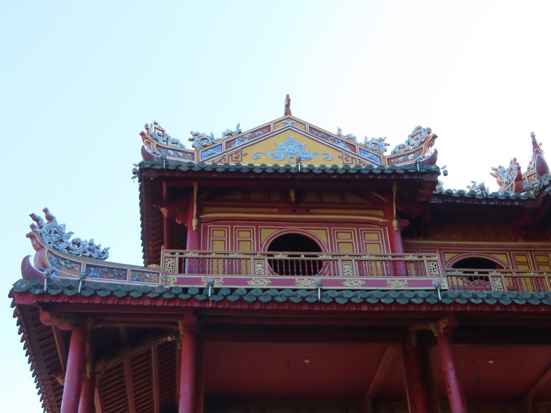 de ingang van de citadel