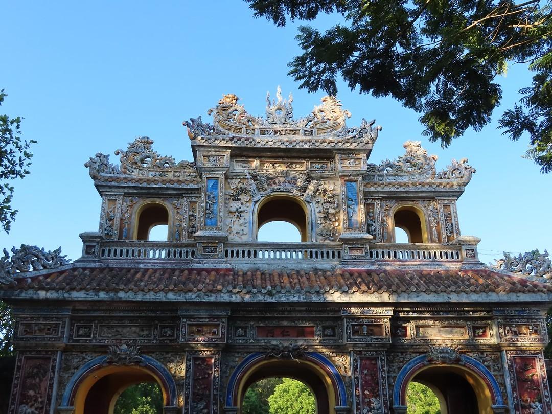 de oostelijke poort van het keizerlijke paleis