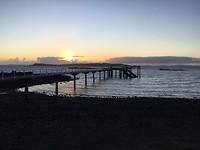 Zonsondergang op Tiritiri