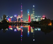 Shanghai (Pudong) by night