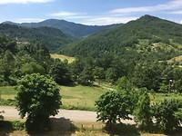 Panoramisch uitzicht Appenijnen