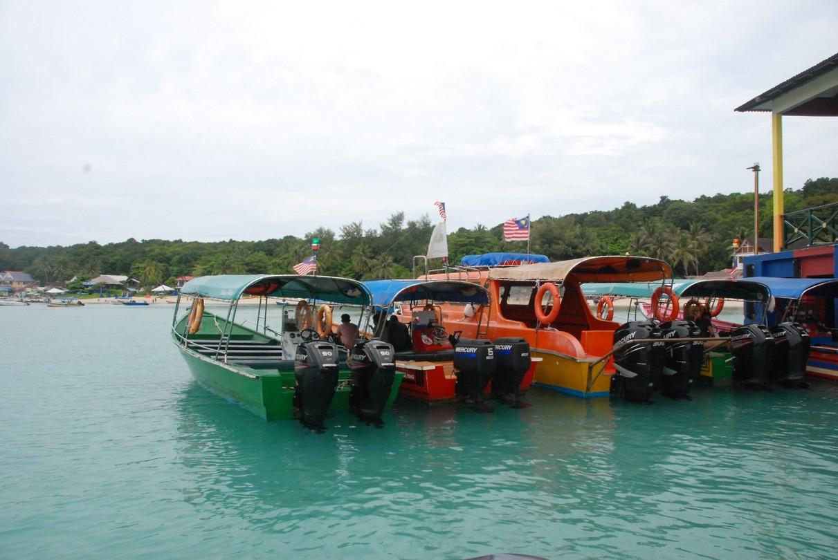 Zwevende bootjes