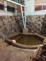 De oude onsen met heet bronwater