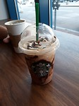 Triple mocha chocolate frappocino