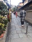 Oude straatjes van kyoto