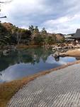 Japanse tuin in Arashiyama