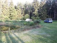 Onze plek op camping Harmonie