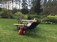 Luieren op de camping