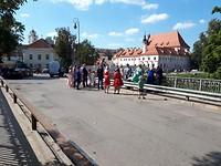 Liefdesbrug in Vilnius