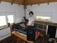 DJ op zolder