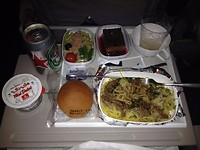 maaltijd in de lucht