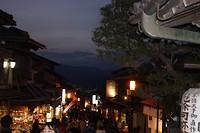 straatje bij Kiyomizu tempel