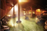 hot spring in hotel Kahou
