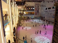 ijsbaan in Dubai Mall