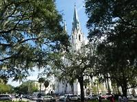 prachtige kerk in Savannah