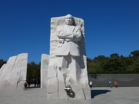 monument van martin luther king
