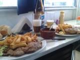 Onverantwoorde maar super lekkere lunch in RG