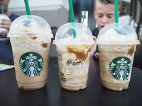 Starbucks voor de 'Montys' in Victoria