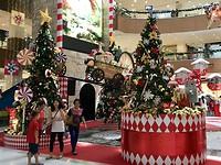 Kerstsfeer in Penang