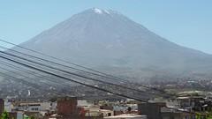 vulkaan misty bij Arequipa