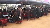 begrafenis Ghana