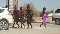 Himba dames in Opuwo