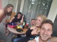 balkon party