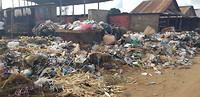 Afvalberg in Mzuzu