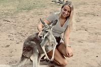 Foto met kangaroo 2
