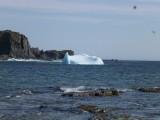 Gekantelde ijsberg