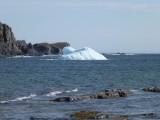 Binnenkomende ijsberg