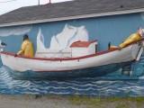 Excursiepunt van waaruit je met een boot naar de ijsbergen en walvissen kunt varen
