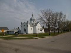 Kerkje waar we stonden