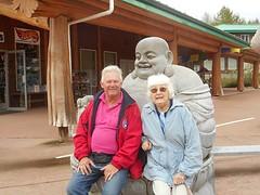 Bij Boeddha op schoot