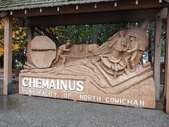 Chemainus bekend om zijn muurschilderingen