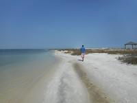 Heerlijk een strand voor je alleen