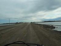Veel consructie onderweg naar Jan Lake