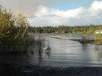 Hoge waterstand Jan Lake