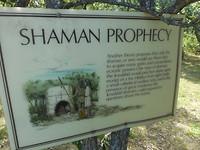 Hier sprak de Shaman de heilige geest aan